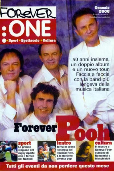 Gennaio 2006 - Forever One - 1966 2006 Pooh
