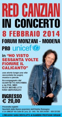 Red Canzian a Modena